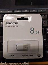 APOTOP Pen Drive - Chiavetta USB da 8 Gb