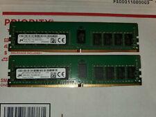 New ListingMta18Asf2G72Pz-2G6 D1Qk Micron 16Gb Ddr4 Rdimm 1Rx4 Pc4-2666V Server Memory 21300