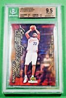 2004 Upper Deck LEBRON JAMES Freshman Season #7 BGS 9.5 Gem Mint Lakers