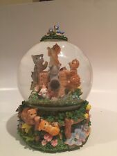 San Francisco Music Box Co. Musical - Cat - Water/Snow Globe Exc. Working Cond.