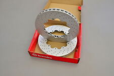 Brembo replacement front brake rotors for Nissan GT-R R35 facelift 390 x 32.6 mm