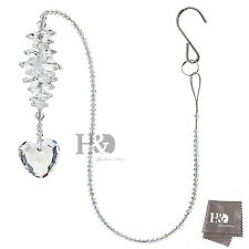 Crystal Glass Suncatcher Rainbow Maker Heart Shape Drop Healing Wedding Gift