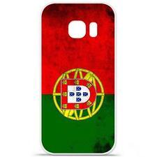 Coque Housse Etui Samsung Galaxy S6 Edge Plus en Silicone - Drap Portugal