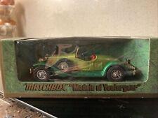 Matchbox Y-14 1931 Stutz Bearcat, in original box. 1974 version.