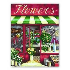 MALEN NACH ZAHLEN  ~ Flower Shop - Blumenladen~ 91442 Dimensions MnZ 28 x 36 cm