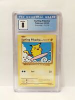 Surfing Pikachu XY EVOLUTIONS Secret Rare CGC NM/MINT 8 Graded Pokemon Card Slab
