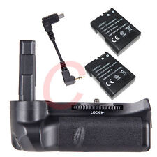 Battery Grip Pack Holder For Nikon D5100 D5200 DSLR Camera +2x EN-EL14 as MB-D51