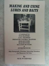Book-Wyshinski - Making and Using Lures and Baits  Trapping  Traps Duke