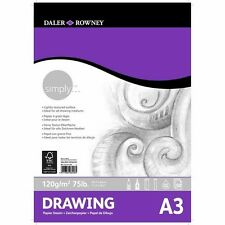 Daler Rowney Simply Drawing Pad - A3