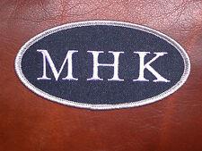 NEW ENGLAND PATRIOTS MYRA H. KRAFT MHK MEMORIAL JERSEY PATCH