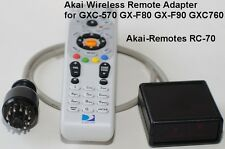 Wireless Remote RC-70 AKAI GXC-570 GX-F80 GX-F90 GXC760