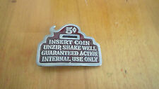 RETRO VINTAGE 1979 THE GREAT CHICAGO FUNNY NOVELTY BELT BUCKLE