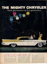 1957 Chrysler Saratoga 2- door hardtop PRINT AD
