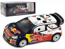Spark S3306 Citroen DS3 WRC #1 Winner Italia Sardegna Rally 2011 - S Loeb 1/43