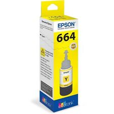 Epson T6644 (Yield: 6,500 Pages) Yellow Ink Bottle