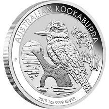 2019 P Australia Silver Kookaburra 1oz BU