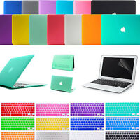 """Laptop Rubberized Hard Case Cover+ Keyboard Skin For Apple Mac Book AIR 11""""/ 13"""""""