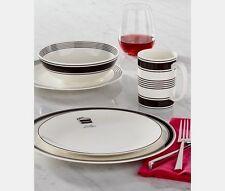 KATE SPADE~Lenox~EAT CAKE FOR BREAKFAST~Porcelain Salad Accent Plates~Set 4~NEW!