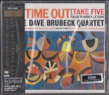 Dave Brubeck Quartet – Time Out SONY SBM JAPAN 24K PICTURE GOLD CD Paul Desmond