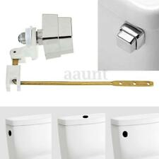 Master Plumber Toilet Tank Lever Flush Handle Brass Arm Push Button Side Mount