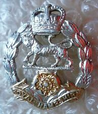 Staybrite Royal Hampshire cap Badge, QC Anodised