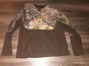 Game Winner Fleece Camo Pullover W Pockets Size Youth Large