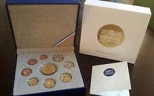 France Proof coins PRESTIGE Set 2013 8 Coins + 100 Euro Gold Sower NEW Perfect