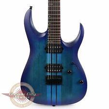 Brand New Ibanez RGA Standard Electric Guitar in Sapphire Blue Flat