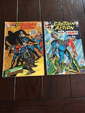 Captain Action #1 & 3 Superman On Cover 1969