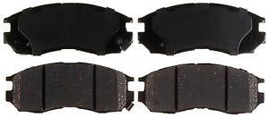 Disc Brake Pad Set-Ceramic Disc Brake Pad Front ACDelco 14D484CH