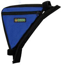 Bolsa Impermeable AZUL OGNS Triangulo a Cuadro de la Bicicleta con Velcro 3481