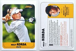 NELLY KORDA 2020 rare rookie card LPGA golf SI for Kids