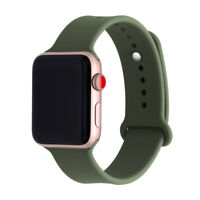For New Apple Watch 1 2 3 Soft Silicone Sport Style Replacement iWatch Strap
