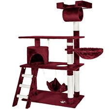 Cat Tree Scratching Post Scratch Centre Bed Toys Kitten Scratcher 141cm new
