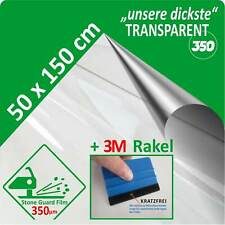 Paint Protection Film Transparent Clear 350 Μm 50 X 150 CM + Profirakel