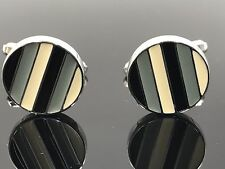 Beverly Hills Stainless Steel Cuff Links