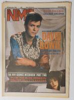 NME magazine 29 September 1984 DAVID BOWIE Boy George Blow Monkeys