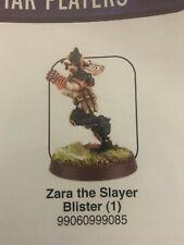 Warhammer Blood Bowl Zara the Slayer Amazon Star Player NEW SEALED metal OOP