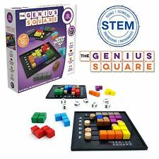 The Genius Square Stem Puzzle Brain Games Board Table Problem Solving Game