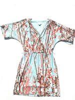 JESSICA SIMPSON Cold Shoulder Multi Color Blouson Dress Size Medium - NWT