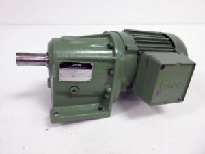 LENZE 7KC4-063H AC MOTOR WITH HELICAL GEARBOX 0.37 28 602.10 1-71-4 205