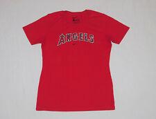 Anaheim Angels Nike MLB Baseball Shirt Womens Large / Slim Fit