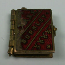 Vintage Collectable Jewellery - Burnley Photographic Souvenir Brass and Enamel