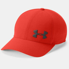 Under Armour UA Adults Armourvent Red Sports Training Stretch Fit Cap XL/XXL
