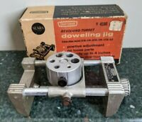 Vintage Craftsman Revolving Turret Doweling Jig 4186 with Box  Made in USA