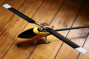 Compass Atom 500 Hubschrauber komplett mit Motor, VStabi, Servos und 2 Akkus