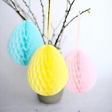 Honeycomb easter egg decoration - custom color - 20cm