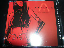 Aaliyah We Need A Resolution Australian Enhanced CD Single