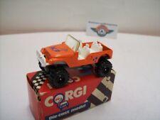 JEEP 4 x 4, 1980, orange, CORGI-JUNIORS (Gt. Britain) 1:64, neuf dans sa boîte