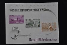 INDONESIA 1961 BL 1-4 MNH